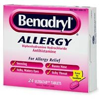 Amazon.com: Benadryl Allergy, Diphenhydramine ...