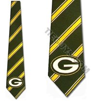 Green Bay Packers Woven TIES Neck Tie