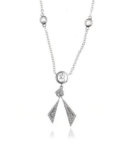 Cerruti 1881 Conjunto de collar y colgante Chongqing Plateado
