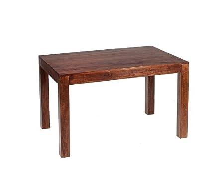 ML16 Ajak Mango Range - Dark Wood Rectangular Dining Table 180Cm (6 Ft) - Deep Walnut