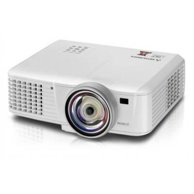 Mitsubishi EW331U-ST 3D Ready DLP Projector HDTV 1280×800 WXGA 2700:1 3000 lumens 16:10 HDMI VGA Ethernet Speaker