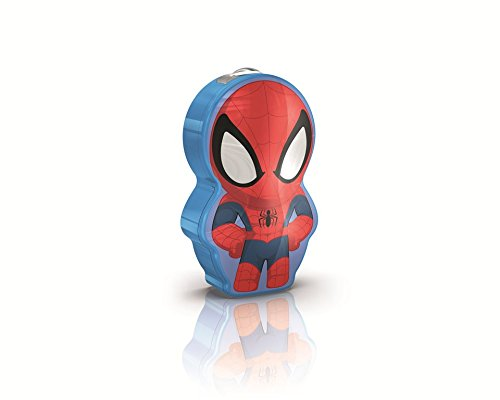 Philips 717674048 Marvel Spider-Man Torch Light, Blue
