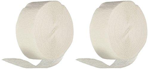 Crepe Streamer 81 Feet 2/Pkg-White (Crepe Paper White compare prices)