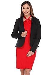 Kaaryah - Black Full Sleeves Jacket