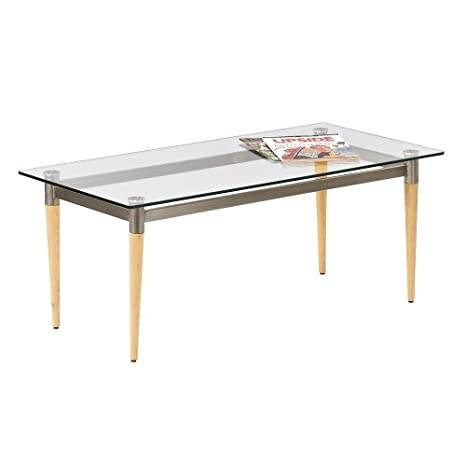 Lesro Glass Top Coffee Table