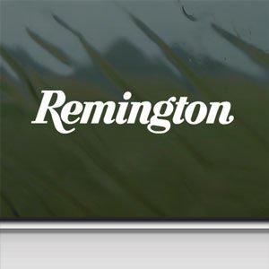 Remington 870 Super Magnum White Sticker Laptop Vinyl White Decal