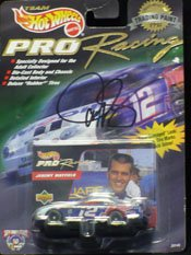 Signed Mayfield, Jeremy Racing Car autographed by Powers Collectibles