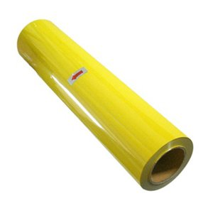 Cad-Cut Neon Yellow Heat Transfer Materials For Vinyl Cutters 20'' X 5Yd