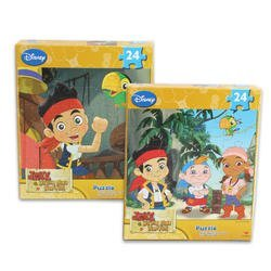 Jake and the Neverland Pirates 24 Piece Puzzle 2 Assorted Designs - 1