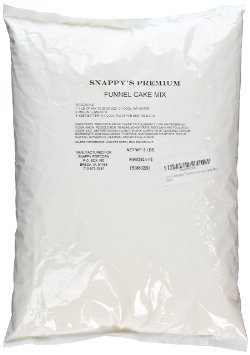 5 lb. Snappy's Premium Funnel Cake Mix (Gold Medal Mix compare prices)