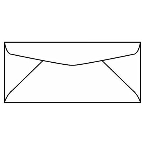 #10, Regular, 4-1/8 x 9-1/2, 24#, White Sulphite (SFI), Diagonal Seam, No Window (Box of 500) yamato minamoto no eritomo 8 5x19 5x120 et45 d74 1 x ray 22