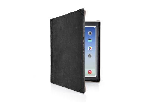 Twelve South Bookbook For Ipad Air - Hardback Leather Case And Display Stand, Classic Black