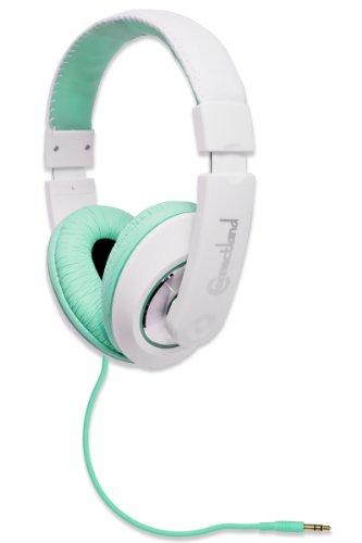Connectland Stereo Headset Teal 40 Mm Speaker