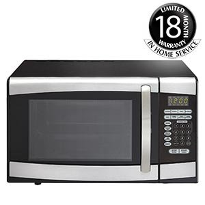Danby® Designer® 25.5 L (0.9 cu. ft.) Stainless-steel Microwave DMW099BLSDD