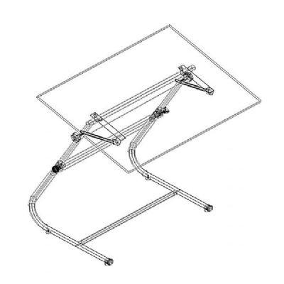 VISTA TABLE BASE - GREY Drafting, Engineering, Art (General Catalog)