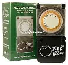 Plug & Grow :Heavy Duty Timmer Switch