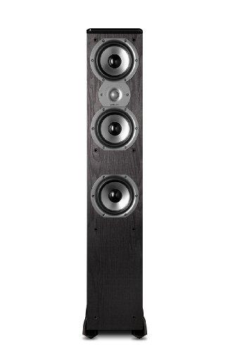 Polk Audio TSi400 Floorstanding Speaker (Single, Black)