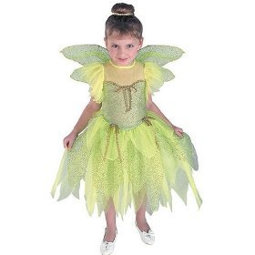 Tinkerbell Costume Small Size (4-6)