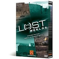 The History Channel Lost Worlds Collection : 9 Hours 24 Minutes : 4 DVD Box Set