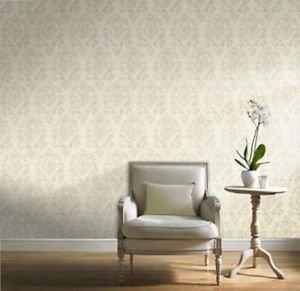 Gran Deco Scandanavia Wallpaper - Cream from New A-Brend