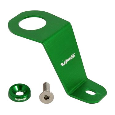 93-97 GREEN Radiator Stay Bracket Clamp Bolt Kit for Honda Del Sol - All Models 93 94 95 96 97 1993 1994 1995 1996 1997 in Real Billet Aluminum JDM (Decepticon Car Emblem Green compare prices)