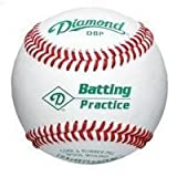 Diamond Bucket with (5 doz) DBP Diamond Batting Practice Baseballs