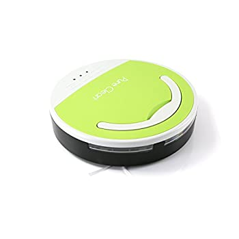 Pure Clean Smart Robotic Vacuum Cleaner, Automatic Vaccum Robot Sweeper Cleaner Multi-Surface Floor Clean Upgraded Version