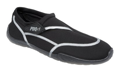 Mens PDQ Beach Water Diving Swimming Aqua Surf Shoes Black Sizes 6-12