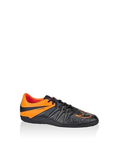 Nike Fußballschuh Hypervenom Phelon Ii Tc Indoor schwarz/orange