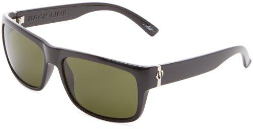 Electric Visual Back Line Es11001620 Cat Eye Sunglasses,Gloss Black,57Mm