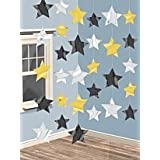 Amscan International Hanging Stars String Decorations Hollywood, Pack of 6by Amscan International