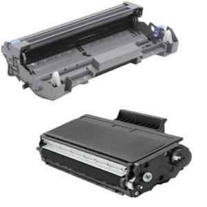 Inktoner 2 Pack Black Brother Dr520 Drum+Tn580 Toner Set For Mfc-8460N Mfc-8470Dn Hl-5200