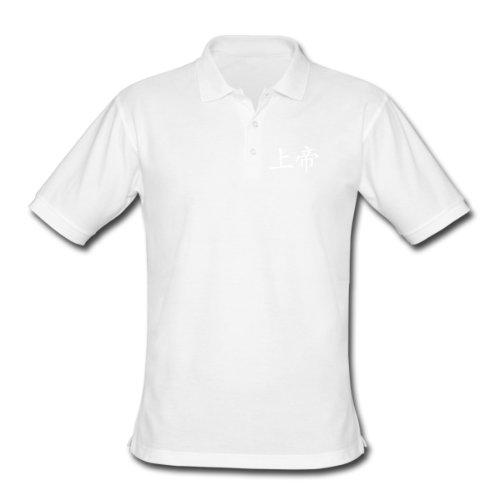 Spreadshirt, Men's Classic Polo Shirt, white, XXL