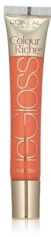 LOreal Paris Colour Riche Le Gloss Peach Fuzz 0.40 Ounces
