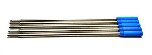 5 x Recharges stylo à l'encre bleue par NEO +. 8513 Cross Compatible