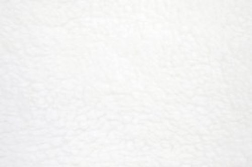 """White Anti Pill Solid Fleece Fabric, 60"""" Inches Wide - Sold By The Yard"""