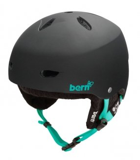 BERN BRIGHTON Helm 2013 matte black, S