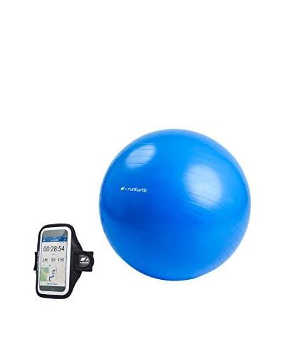 Runtastic Funda de Brazo para iPhone: 4/4S/5/5S/5C/6 y Samsung Galaxy S3/S4/S5 + Gym Ball RN0816