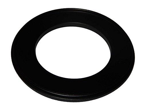 vhbw Step UP Filter-Adapter 49mm-77mm schwarz für Kamera Canon Casio Pentax Olympus Panasonic Sony Nikon Ricoh Sigma Tamron Samsung Agfa Minolta Kodak