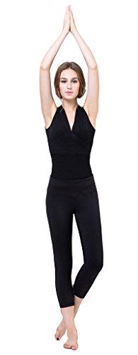 hotoop-womens-running-yoga-capri-shapewear-leggings-black-s