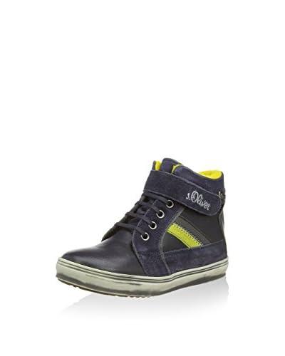 s.Oliver Sneaker Alta [Blu Navy]