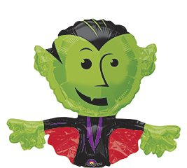 Cute Dracula Mini Shape Balloon