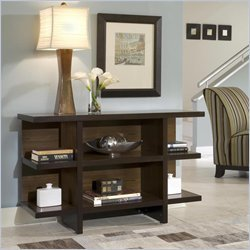 Cheap Home Style 5539-22 Geo Console and Sofa Table, Walnut Finish (5539-22)
