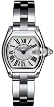 Cartier Roadster Watch: Cartier Women's Roadster Stainless Steel Watch #W62016V3
