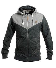 Smith & Jones Herren Kapuzenjacke Sweatshirt 'Haymarket' Mit Reißverschluss
