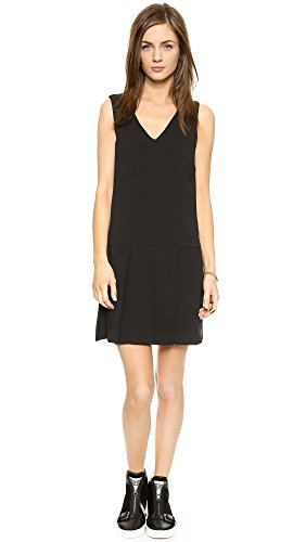 Marc By Marc Jacobs Women'S Yumi Crepe Dress, Black, Small
