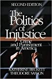 img - for The Politics of Injustice 2nd (second) edition Text Only book / textbook / text book
