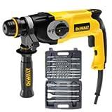 DEWALT D25123K SDS Plus Hammer Drill + WDCS Drill & Chisel Set 110V