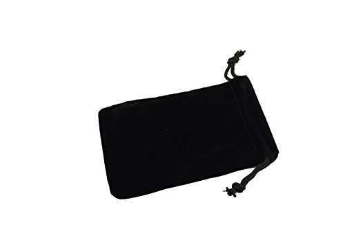"Regal Pak ® Black Velvet Drawstring Pouch 3"" X 4"" (12 pieces/one dozen)"