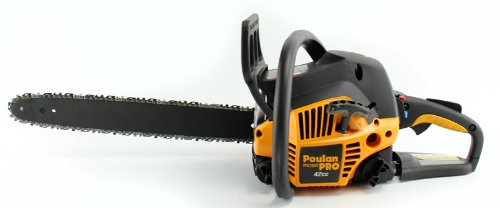 "Poulan Refurbished Pro PP4218A 18"" 42CC 2 Cycle Gas Powered Chain Saw Home Tree Chainsaw"